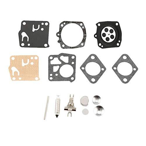 CFDYKRP Piezas de Motosierra Junta de carburador Juego de Herramientas de reparación de carburador for Tillotson Homelite XL-12 súper XL RK-23HS RK23HS RK-23-HS (Color : 1 Set)