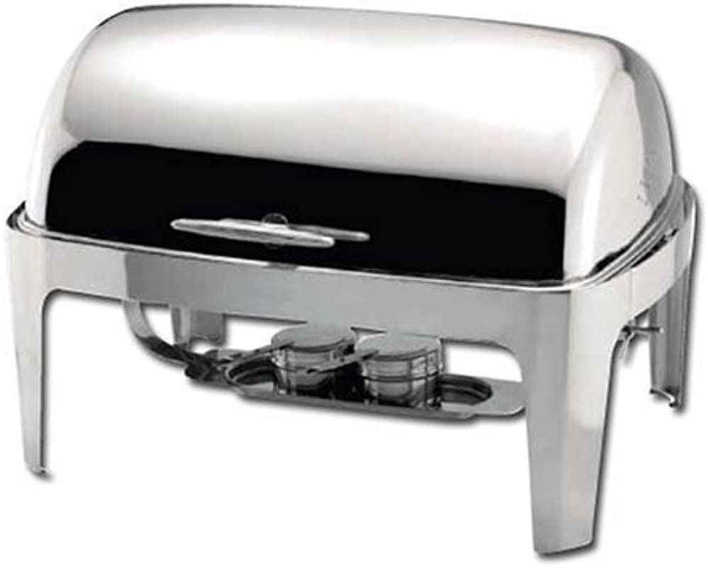 Winware Madison 8qt Full Size Chafer Roll Top S S Heavyweight Renewed
