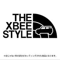 クロスビー ステッカー THE XBEE STYLE【カッティングシート】パロディ シール(12色から選べます) (黒)