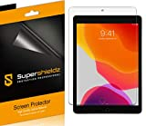 (3 Pack) Supershieldz Designed for Apple New iPad 10.2 inch (8th / 7th Generation, 2020/2019) Screen Protector, High Definition Clear Shield (PET)