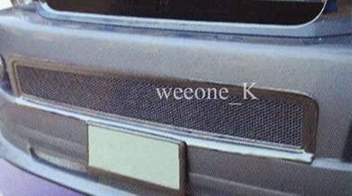 K1AutoParts Front Bumper Sport Mesh Net Lower Grille Grill Chrome Color Cover Trim For Toyota Hiace Commuter 2005-2010