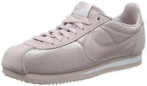 Nike Damen Classic Cortez Nylon Sneaker, Pink (rosa/weiß rosa/weiß), 40 EU