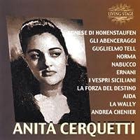 Anita Cerquetti, soprano Scènes et Airs d'opéra