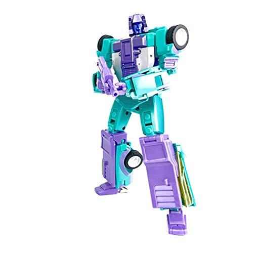 HTTDD Juguetes de transformación, Montana Transformación Figura Figura Toy Breakdown Modelo ABS Estatua Deformación Robot de Coche Juguete para niños y Adultos