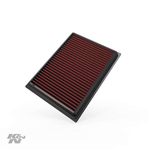 K&N Engine Air Filter: High Performance, Premium, Washable, Replacement Filter: 2007-2019 Nissan/Infiniti L4/V6/V8 (Sentra, Juke, Pulsar, Micra, Q50, Q60, Q70, QX70), 33-2409