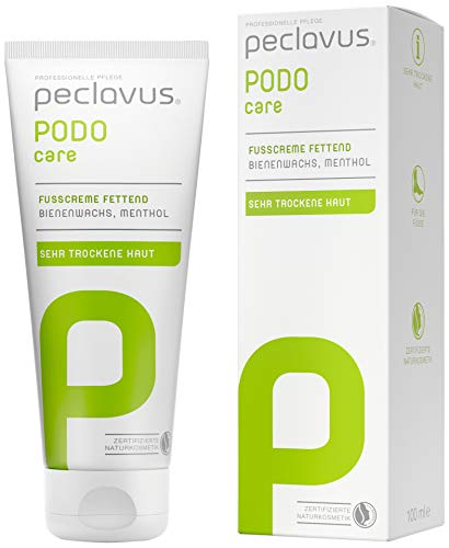 peclavus® PODOcare Fußcreme fettend 100ml