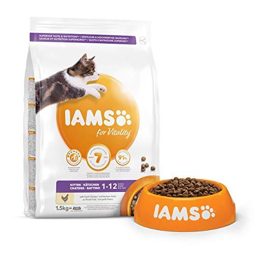 IAMS for Vitality Kitten kg 1,5 per Gattini Cuccioli - 1 Sacco