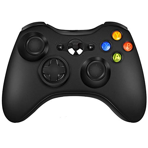Wireless Controller for Xbox 360 Windows PC (Black)