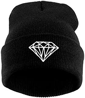 Black Wool Beanie & Bobble Hat For Unisex