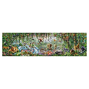 ALeaf Jigsaw Puzzles - 33600 Pieces of Super Large Puzzle-Forest Miracle Puzzle Brain Decompression Floor Puzzle Interesting Holiday Toy Best Gift Toys  Size   570157CM