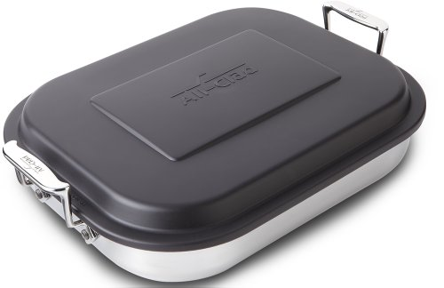AllClad E9019964 Stainless Steel Lasagna Pan Cookware 15Inches Silver
