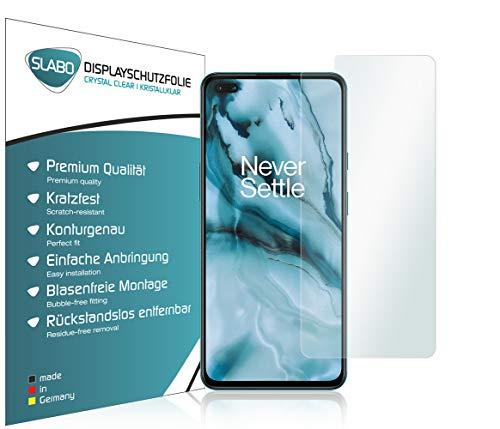 Slabo 4 x Bildschirmschutzfolie für OnePlus Nord (5G) Bildschirmfolie Schutzfolie Folie Zubehör Crystal Clear KLAR