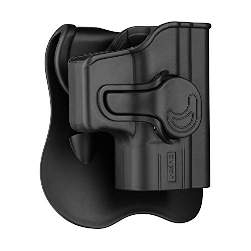 Glock 43 Holster OWB, Outside The Waistband Concealed Carry Paddle Holster Fit Glock 43,...