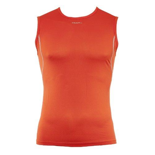 Craft Débardeur Run Veste de Course-Homme-Orange-Taille s