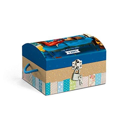 Busquets - Cofre guarda secretos candy and coquette azul