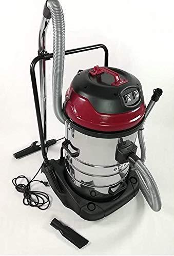 CAISER Aspiradora Wet & Dry Profesional Industrial 70L para seco y húmedo 2000W