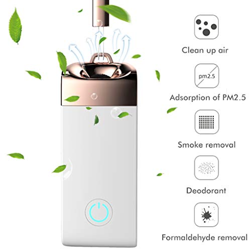 Why Choose Mini Portable Air Purifier Personal Travel, 36.5 Million Negative Ion Purifier, Necklace ...