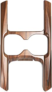 Flash2ning Water Cup Holder Panel Cover Peach Wood Grain Trim for Honda CRV CR-V 2017 2018 2019 2020 EX EX-L Touring,1 Pcs