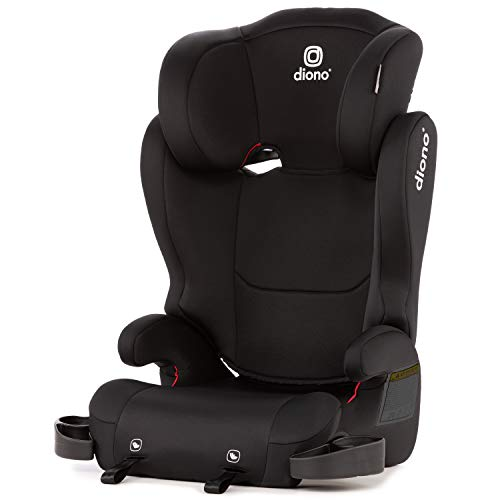 Diono Cambria 2 Latch Booster Seat with 2-in-1 XL Belt Positioning for Comfort, Space and Room to...