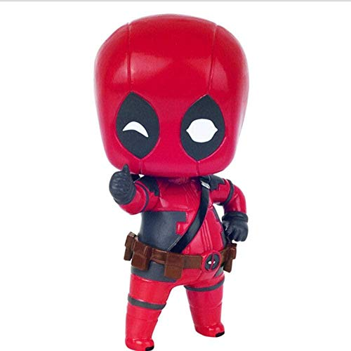 VENDISART Action Figure Marvel Deadpool PVC 9cm Big head Anime Collectible model dolls Gifts Cartoon Toys