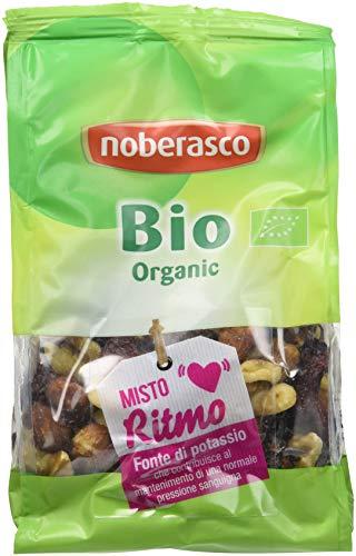Misto di frutta secca ed essiccata bio Noberasco Bio Misto Ritmo - confezione da 12  confezioni da 175g - Frutta secca mix