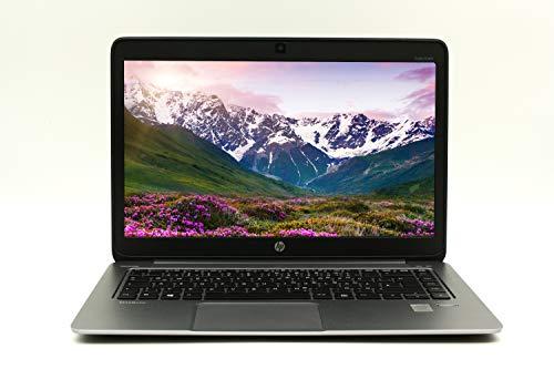 HP Elitebook Folio 1040 G1 14 Zoll (1366x768) |Leistungsstarker Ultrabook| Intel Core i5-4.Gen 4GB RAM - 256 GB SSD Win 10 Home Tastatur DE | 1,5 kg Silber (Generalüberholt)