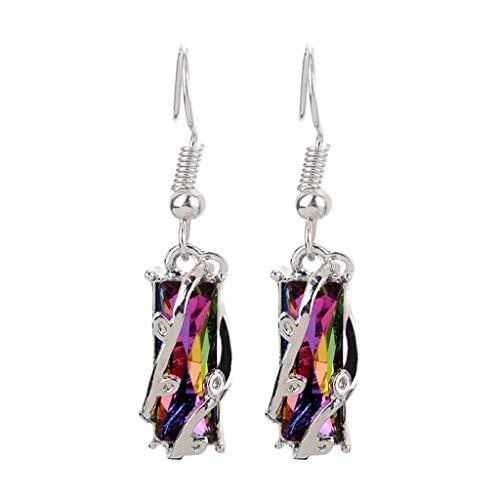 Pendientes de joyería para mujer, perla de acetato acrílico, placa de concha