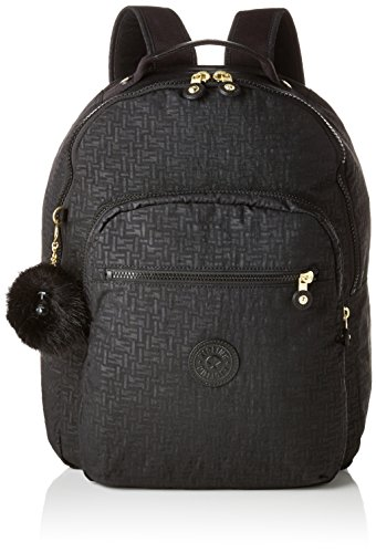 Kipling Seoul Baby Backpack Mochila Tipo Casual, 44 cm, 26 Liters, Negro (Black Pylon Emb)