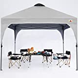 ABCCANOPY Outdoor Pop up Canopy Tent 10x10 Camping Sun Shelter-Series, Gray