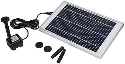 eDealMax Cascada de la Bomba 5W Fuente Solar al aire Libre Para Piscina estanque de jardín