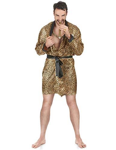 Peignoir léopard homme Taille Unique