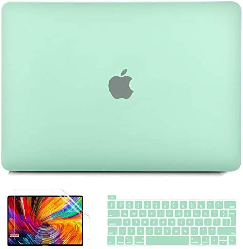 B BELK MacBook Air 13 Case 2020 2019 2018 Release A2337 M1 A2179 A1932 Crystal Mint Green Plastic product image