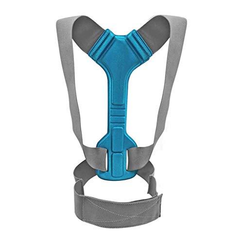 AWEDE Verstellbare Schulterhaltung Korrektor Korsett Back Back Back Gürtel Lendener Unterstützung Gerade Korrektor für Kinder Männer Frauen (Size : Small-S)