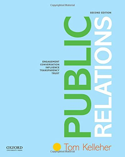 Compare Textbook Prices for Public Relations 2 Edition ISBN 9780190925093 by Kelleher, Tom