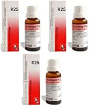 3 Pack X Dr. Reckeweg - Homeopathic Medicine - R25 - Acute and Chronic Prostate. --
