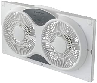 reversible window fan remote control