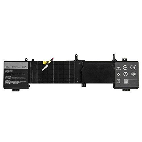 7XINbox Dell 6JHDV Batterie 14.8V 92Wh Laptop Ersatz Akku für Dell 17 R2 R3 ALW17ED ALW17ER Serie 5046J P43F