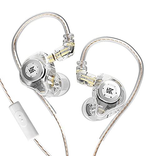 VVXXMO Kz EDXpro Cuffie Hifi Dinamiche Cuffie In-ear Sport Auricolari Cablati Controllo del Volume per Adulti Uomini Donne Piccole Orecchie