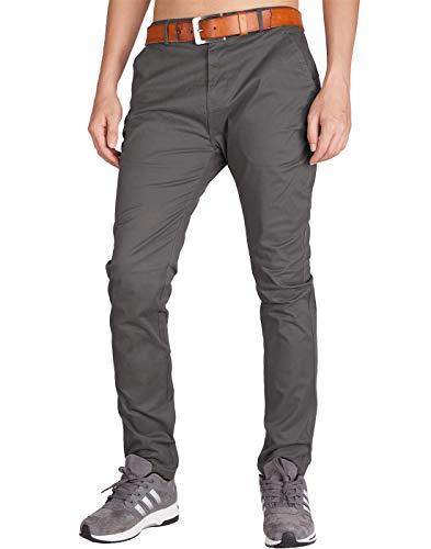 ITALY MORN Pantalones Chino Casual Hombre Tramo Outdoor Ropa