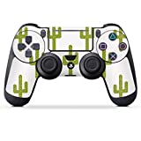 DeinDesign Skin kompatibel mit Sony Playstation 4 PS4 Pro Controller Folie Sticker Pattern Dschungel Kaktus