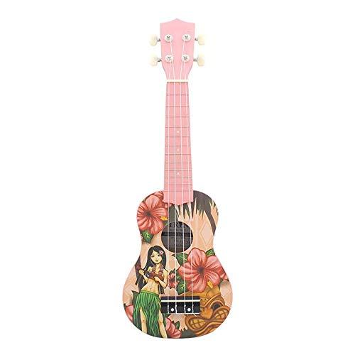 NEHARO Guitarra eléctrica Ligera Kiwi Chica Piña y 21 Pulgadas de Flores...