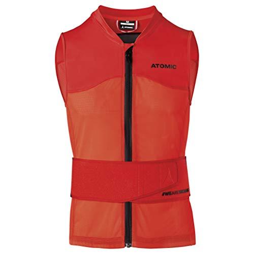 ATOMIC Herren Live Shield Vest M Ski-Protektor-Weste, red, S