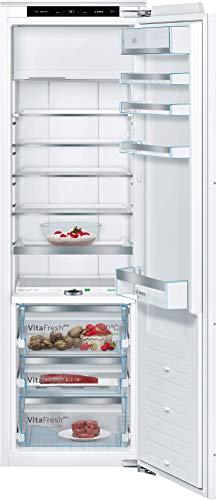 Bosch KIF82PF30 Serie 8 Einbau-Kühlschrank mit Gefrierfach / A++ / 177, 5 cm Nischenhöhe / 220 kWh/Jahr / 254 L Kühlteil / 15 L Gefrierteil / VitaFresh pro / VarioShelf