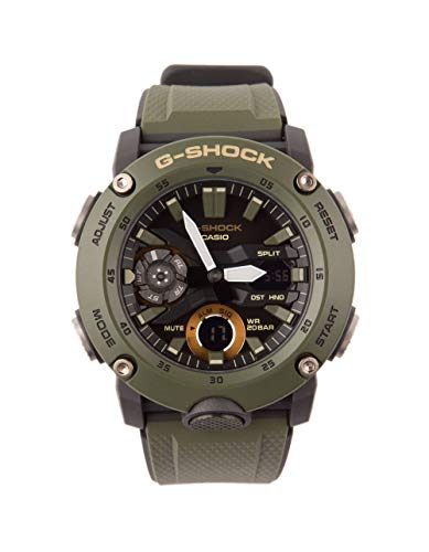G-Shock by Casio Men's Analog-Digital GA2000-3A Watch Military Green