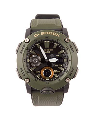 Casio GA2000-3A G-Shock Men's Watch Military Green 51.2mm Carbon/Resin