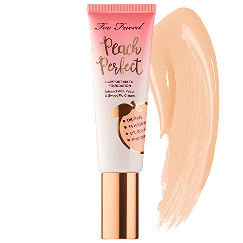 TOO FACED Peach Perfect Comfort Matte Foundation ~ Warm Nude
