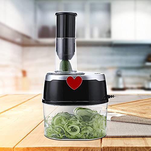 Cortador de verduras eléctrico de 2 litros para verduras, frutas, alimentos