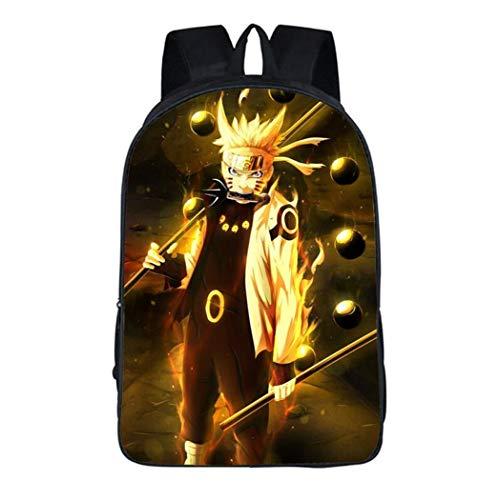 Cosstars Naruto Anime Rucksack Backpack Büchertasche Schultasche für Schüler Jungen Mädchen /14