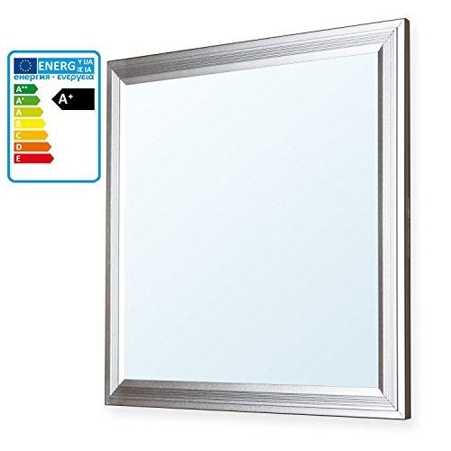 LEDVero 30x30 Panneau Ultraslim de LED - 10W, 800lm, Plafonnier encastré avec clips de montage et transformateur EMV2016 disponible dans les couleurs claires blanc chaud, blanc froid et blanc neutre!, Ton:blanc froid (KW)