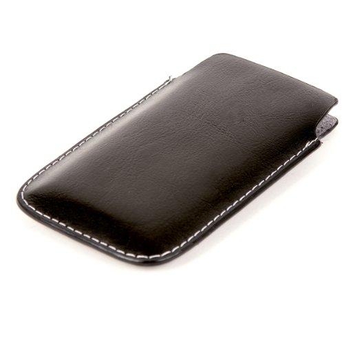 FOLLOW ME! Etui offen Lederetui Tasche Holster Handy Hülle für HTC HD2